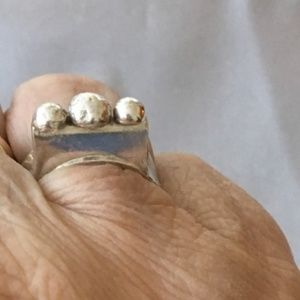 Really unique sterling silver ring